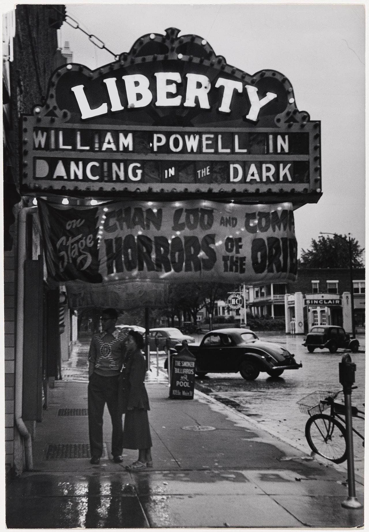 13. Outside the Liberty Theatre