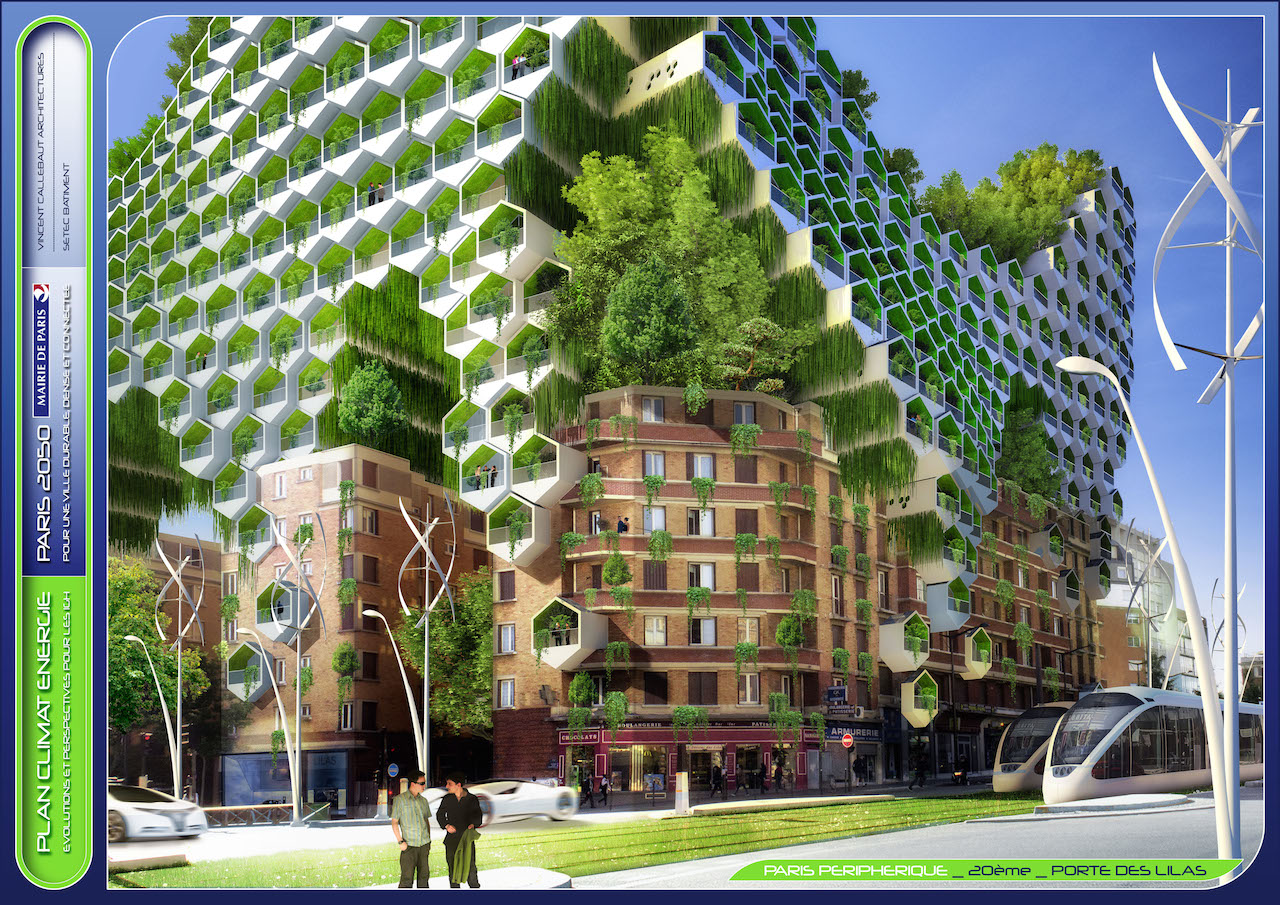 Honeycomb Towers  © VINCENT CALLEBAUT ARCHITECTURES