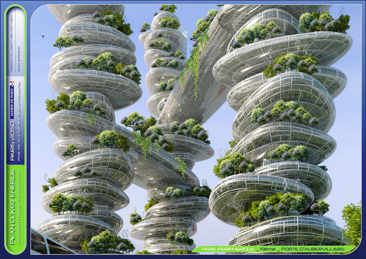 Farmscrapers  © VINCENT CALLEBAUT ARCHITECTURES