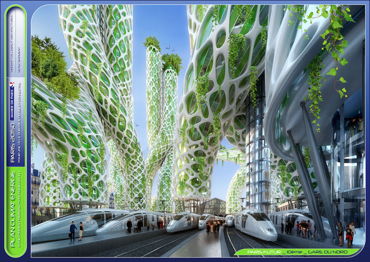 Mangrove Towers  © VINCENT CALLEBAUT ARCHITECTURES
