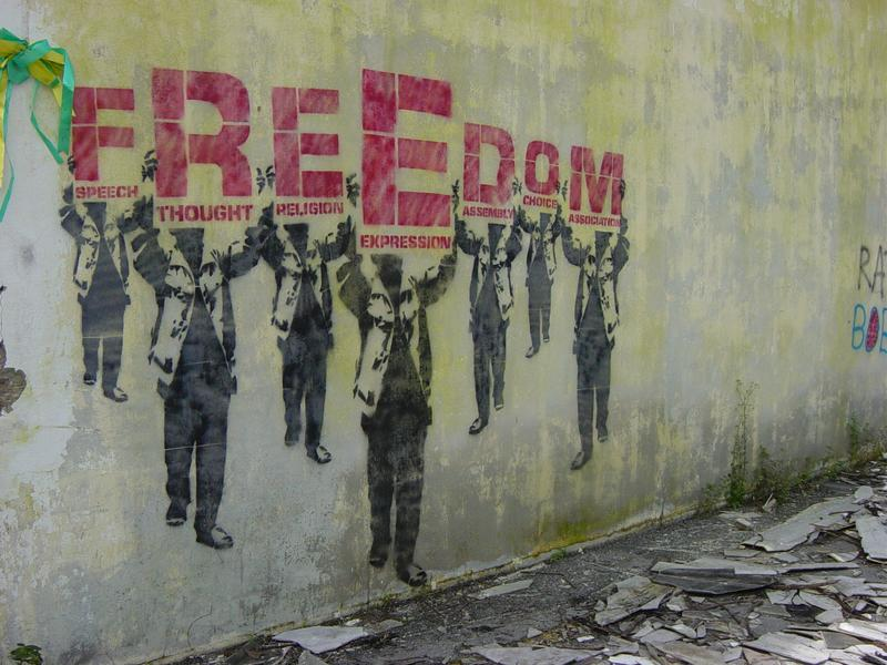 """The unnamed, """"Freedom"""" (2003) (via The unnamed's Flickrstream)"""
