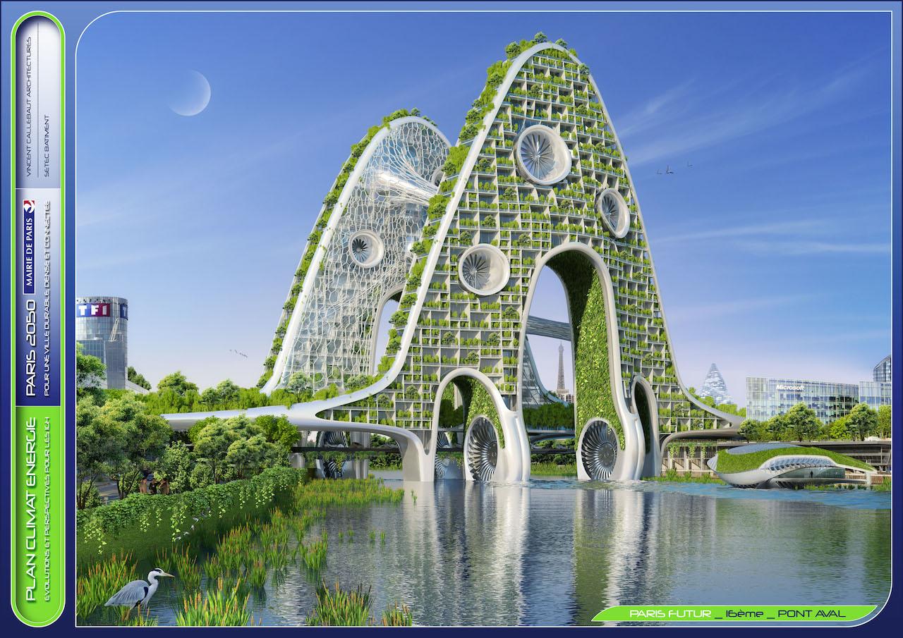 Bridges Towers  © VINCENT CALLEBAUT ARCHITECTURES