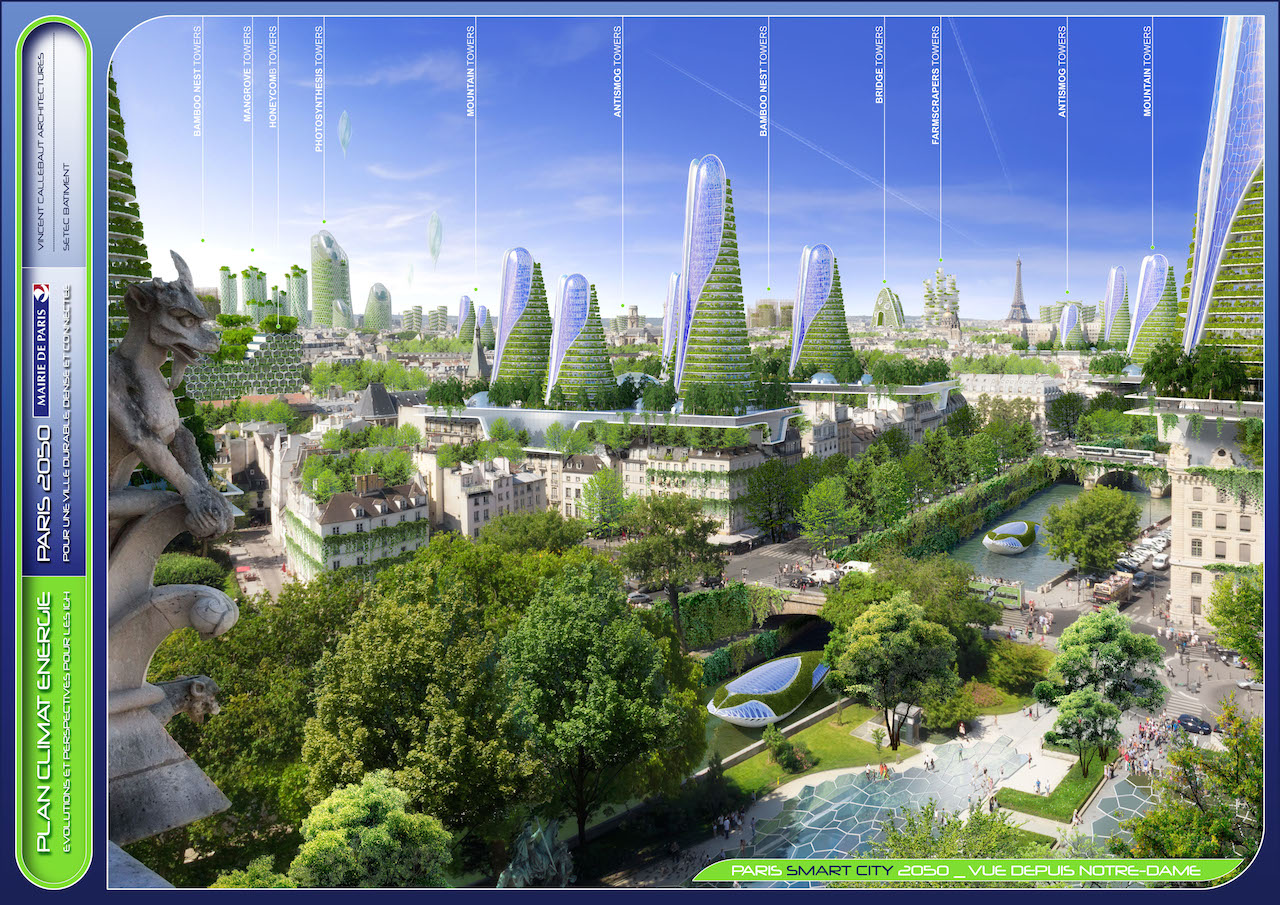 Panoramic View  © VINCENT CALLEBAUT ARCHITECTURES