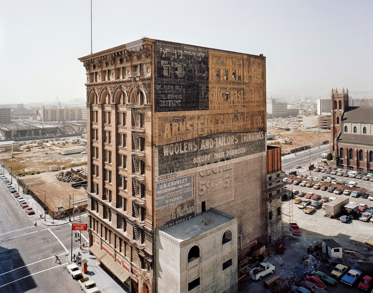 """Janet Delaney, """"Mercantile Building, Mission and 3rd Street"""""""