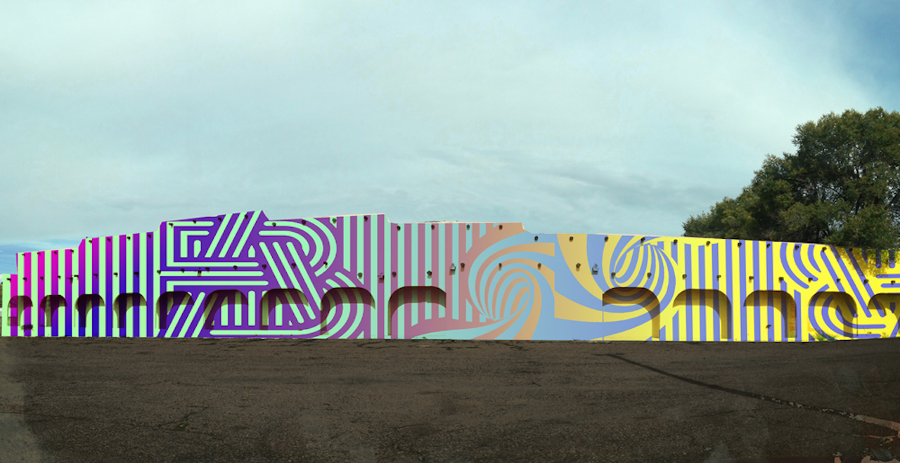 Art Complex Exterior Mural