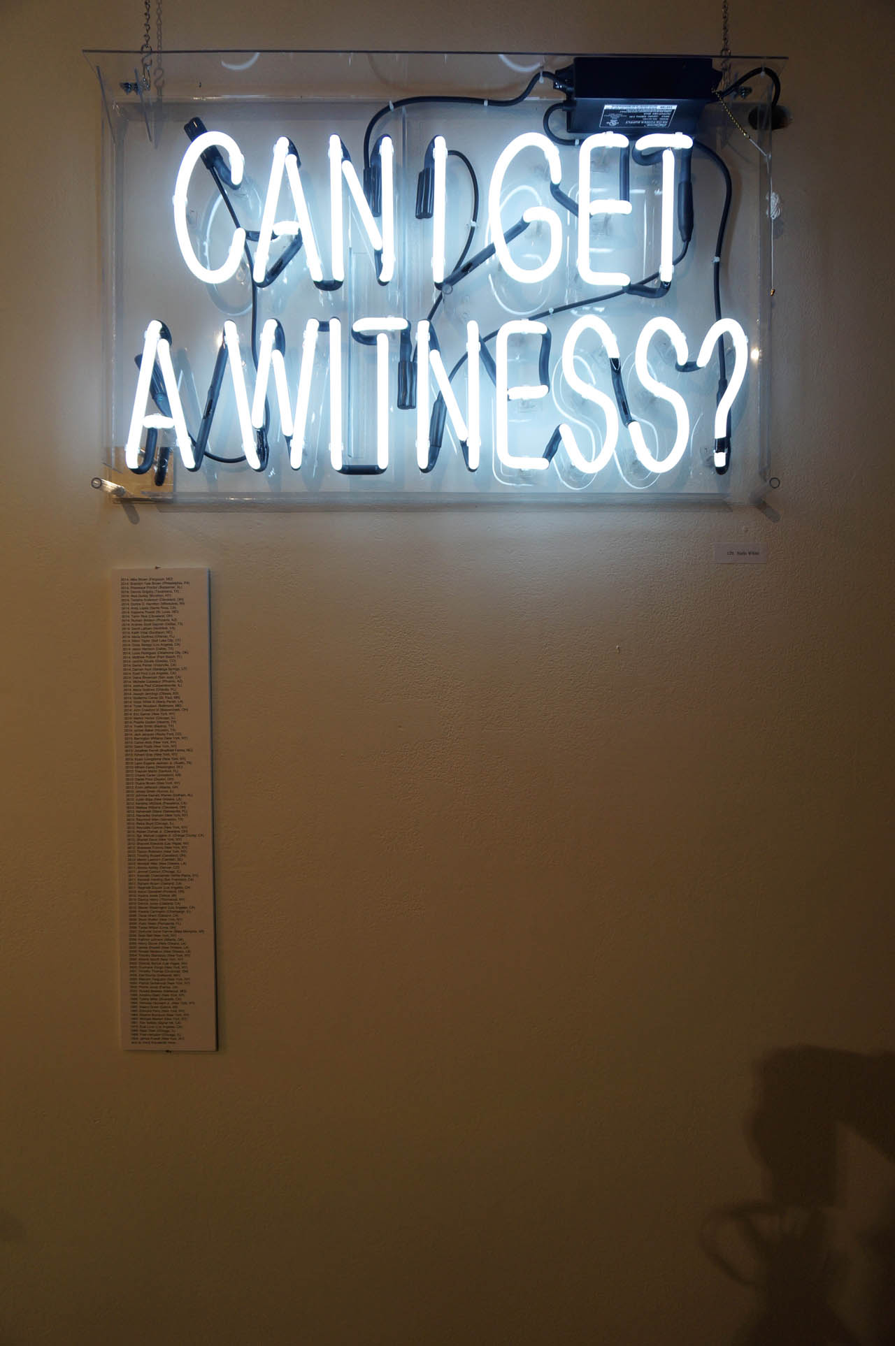 """Nafis White, """"Can I Get a Witness?"""""""