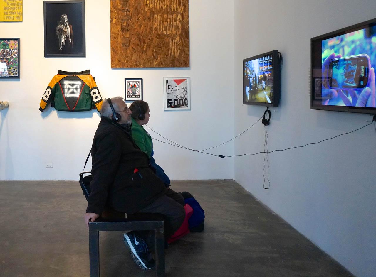 Installation view, 'Respond'