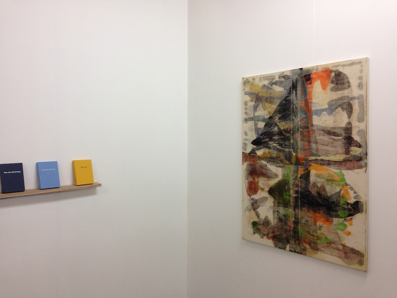 Paintings by Keith Varadi at Smart Objects' booth