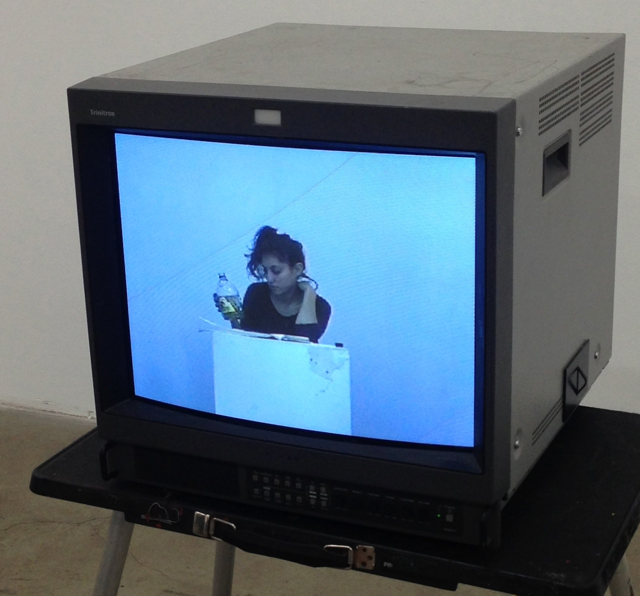 "Francesca Sloane, ""Looser"" (2013), video transferred to DVD, 1:00:00"