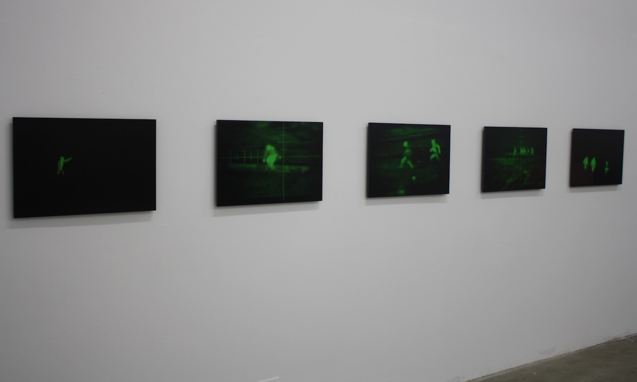 "Louis Hock, ""Nightscope Series"" (2000-2003), 10 digital pigment prints, 17 x 24 inches"
