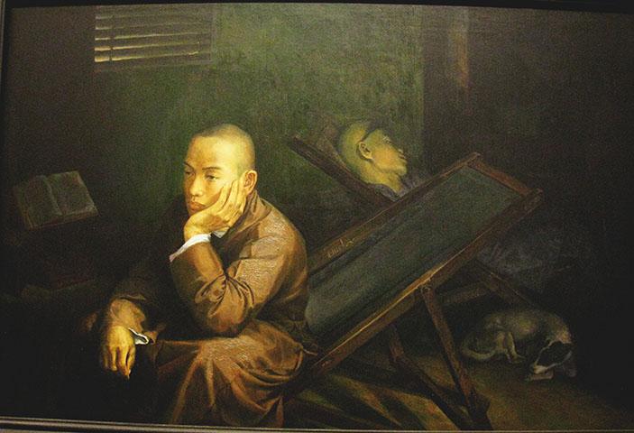 "Nguyen Van Doan, ""Meditation"", 1998, Courtesy Ho Chi Minh City Fine Arts Museum"