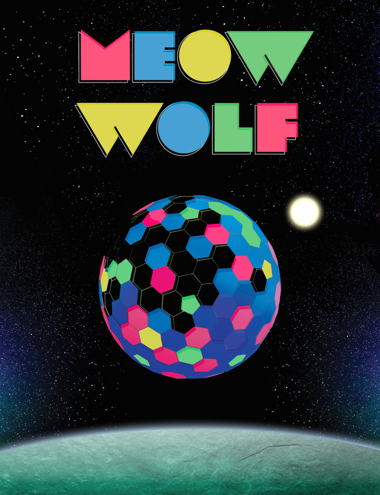 Meow Wolf Cover logo