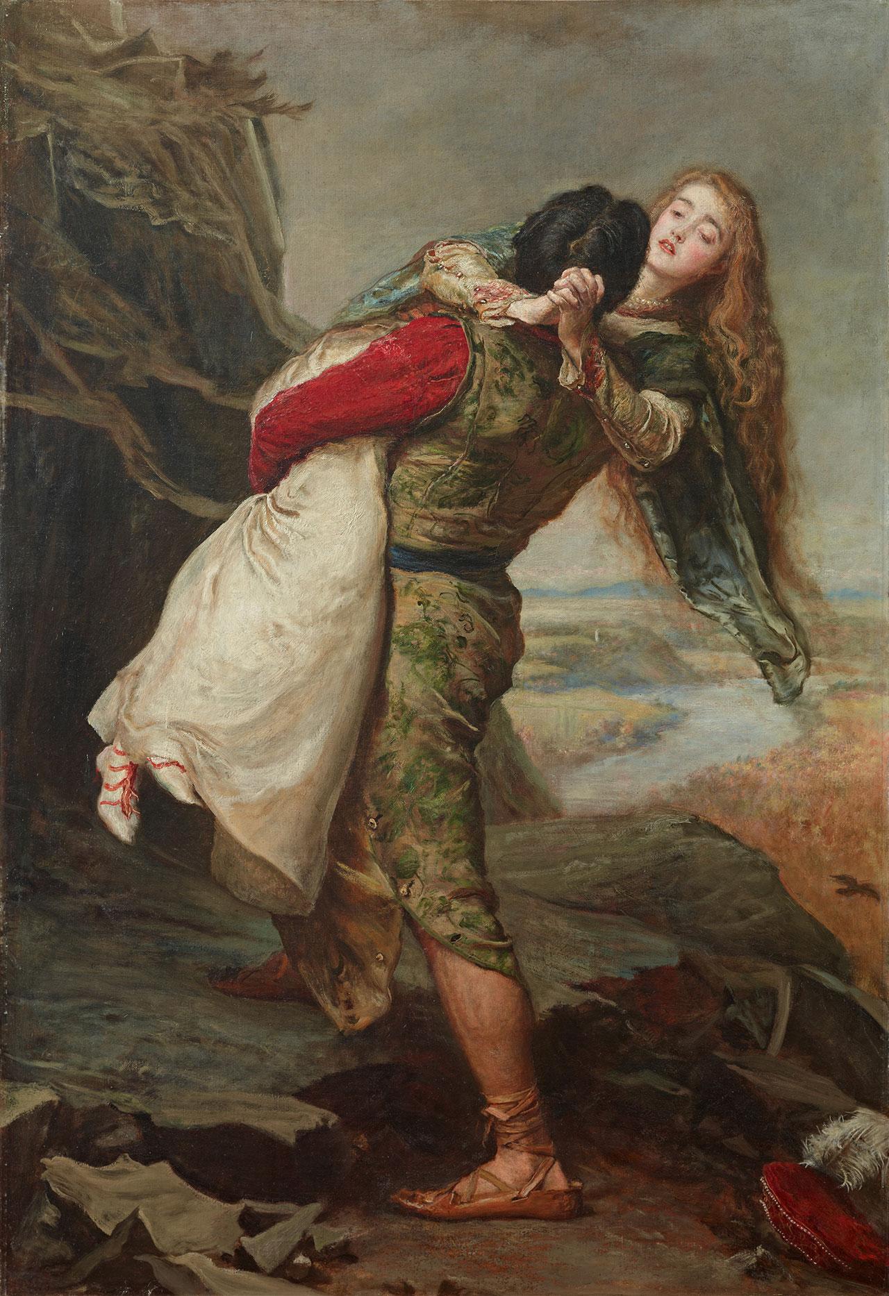 "John Everett Millais, ""The Crown of Love,"" (1875)"