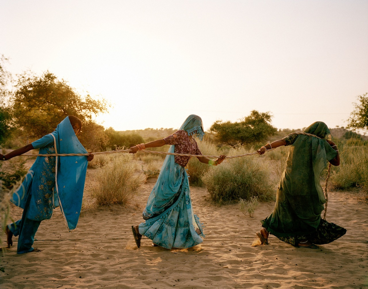 Mustafah Abdulaziz, 'Pulling of the well', 2013, Tharpakar, Pakistan