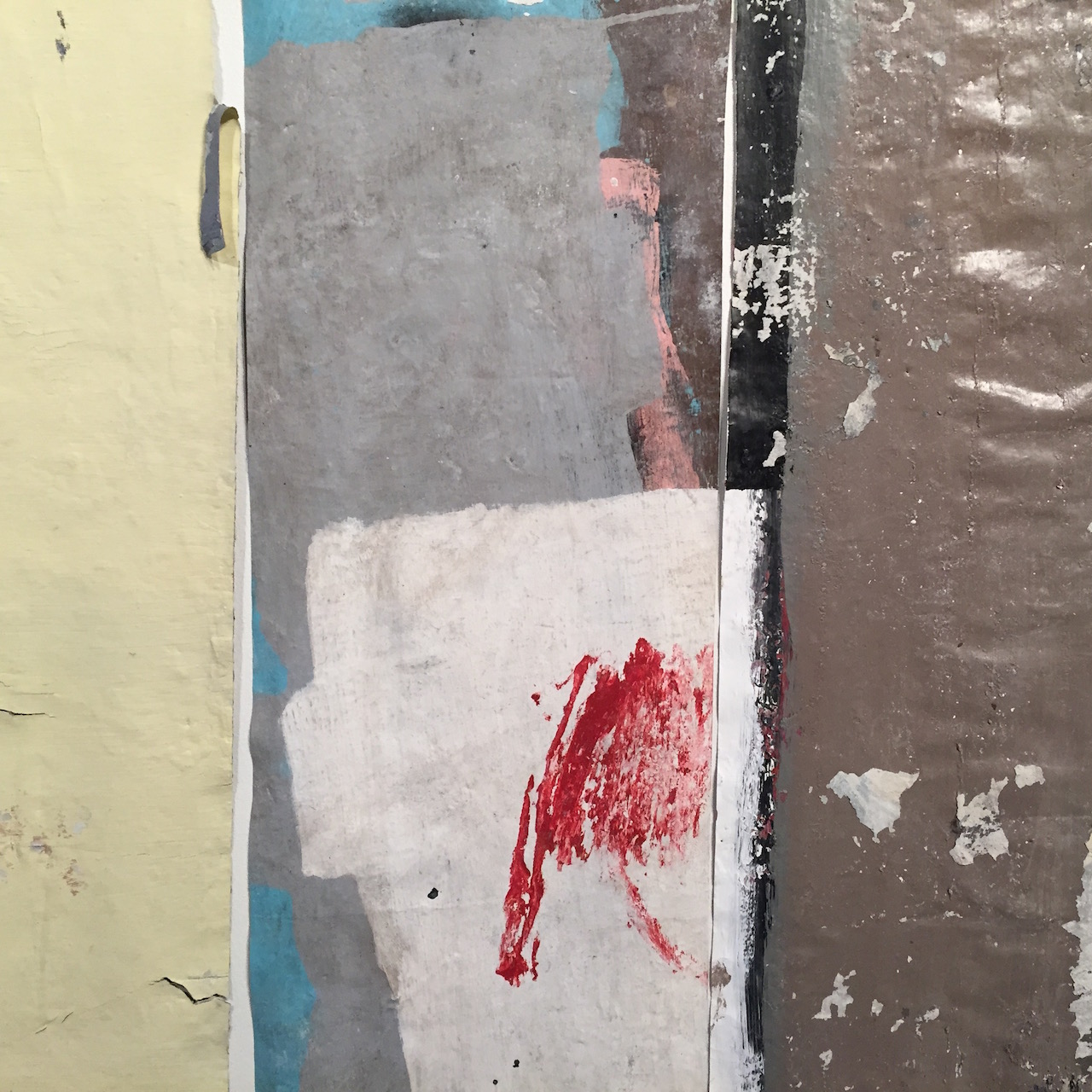 Detail of work by Pablo Rasgado at Disjecta