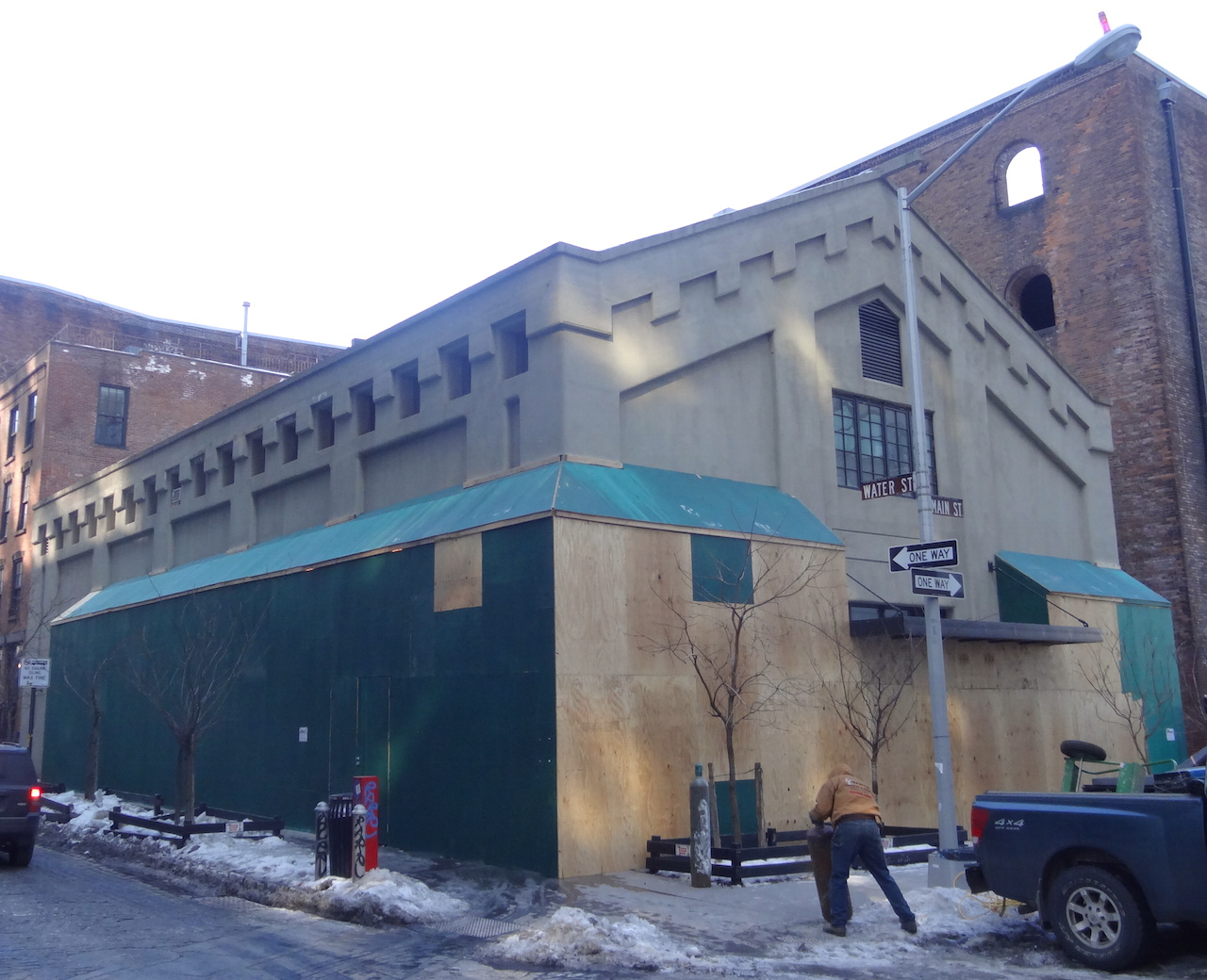 The former Galapagos Art Space building, which will soon house several galleries