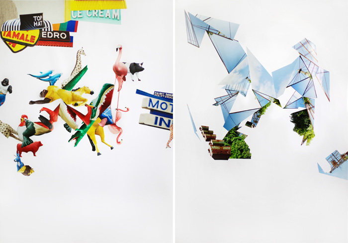 "Lisa Truttmann and Guido Spannocchi, ""Elsewhere Lands"" collage, 2014 (via lisatruttmann.at)"