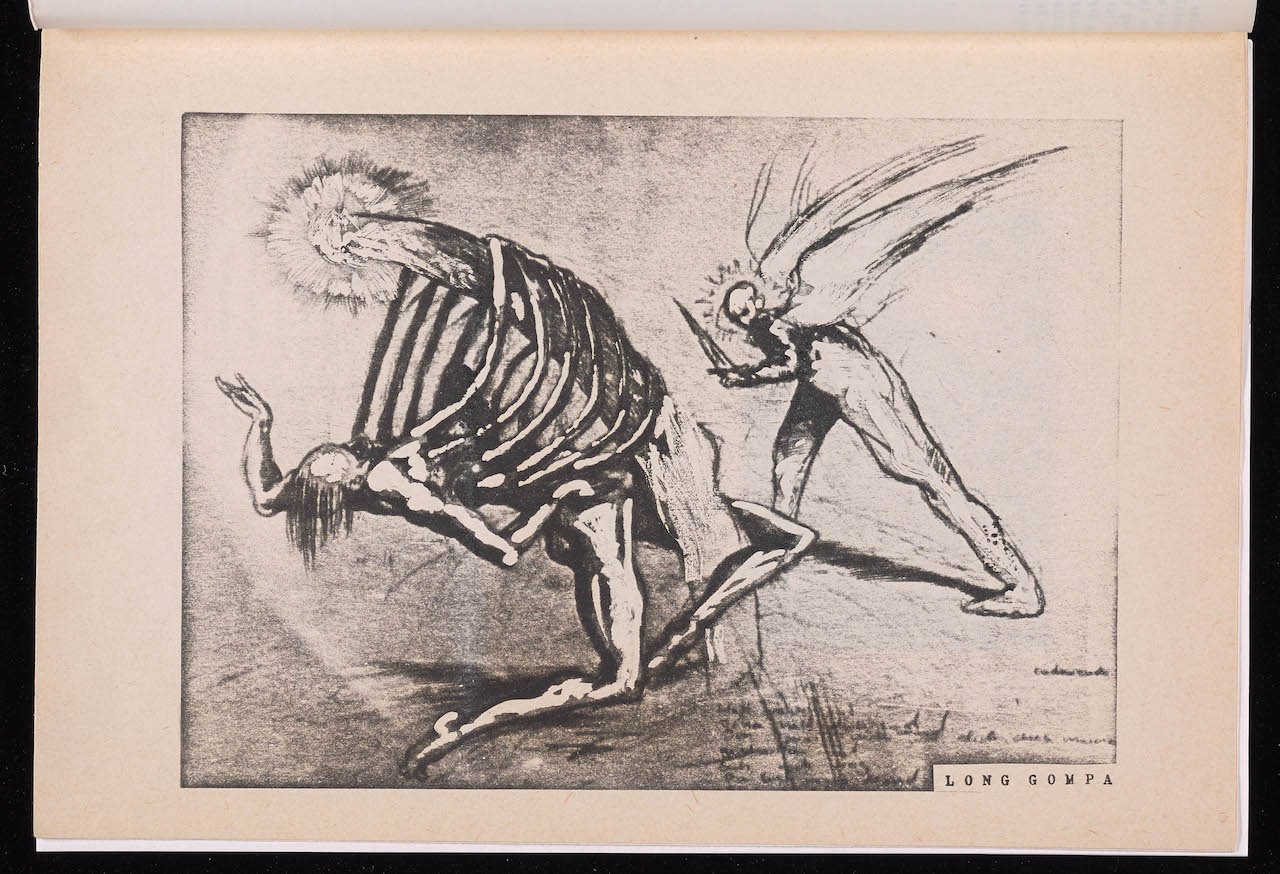 "A burned page from Henryk Gericke's ""Caligo, no. 2"" (Berlin, 1985)"