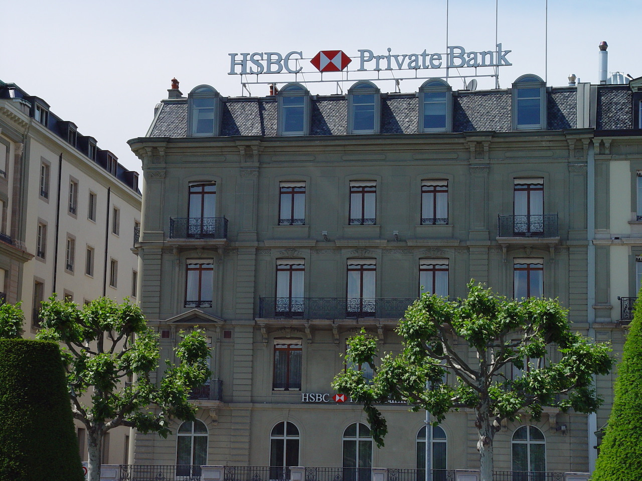 An HSBC private bank in Geneva (photo by Beat Strasser/Flickr)