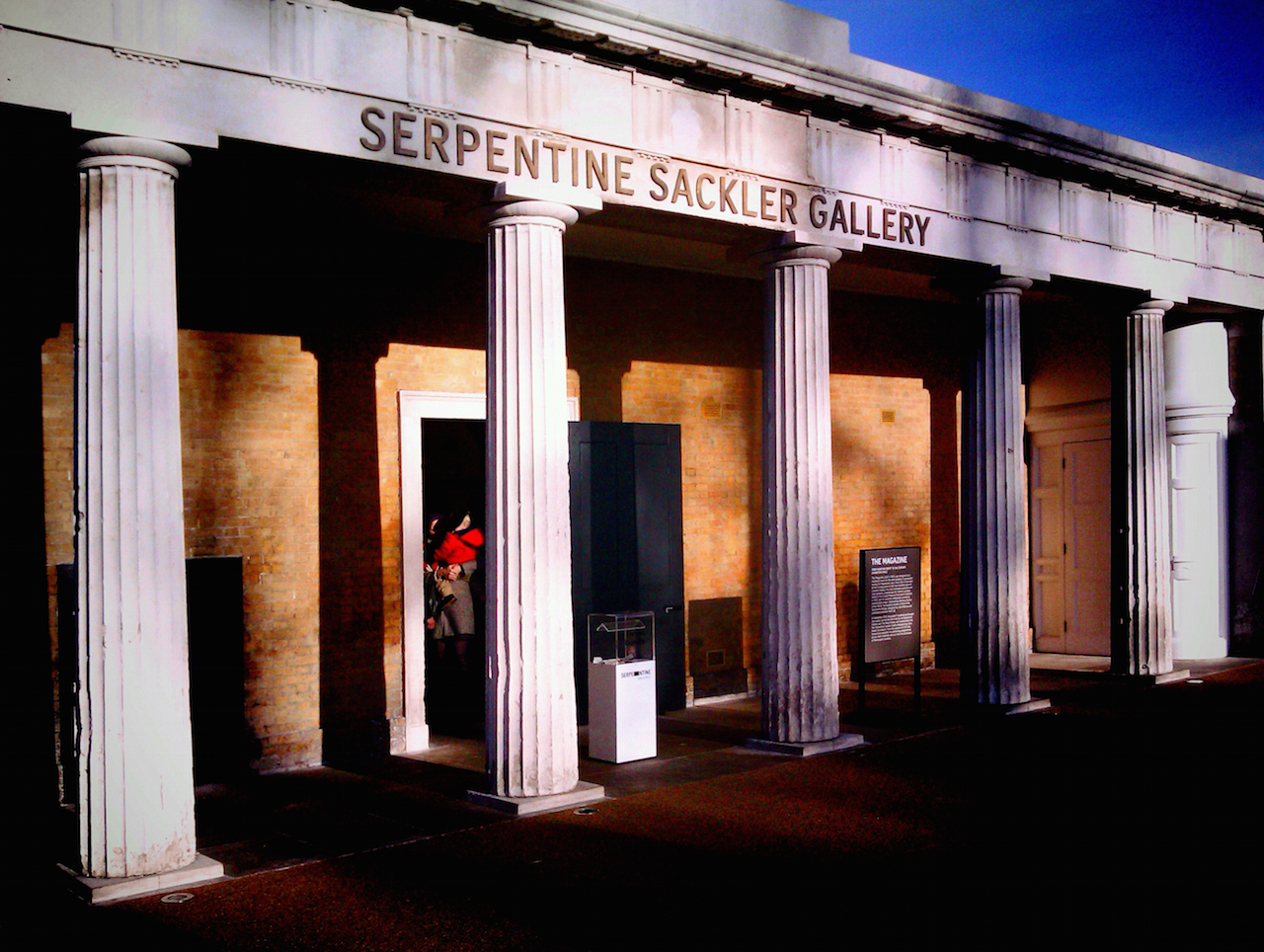 The Serpentine Sackler Gallery (photo by Jose Mesa/Flickr)
