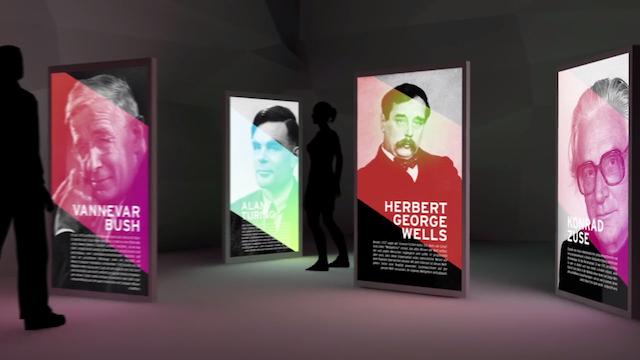 A rendering of the Internet Museum (Screen grab via Vimeo)