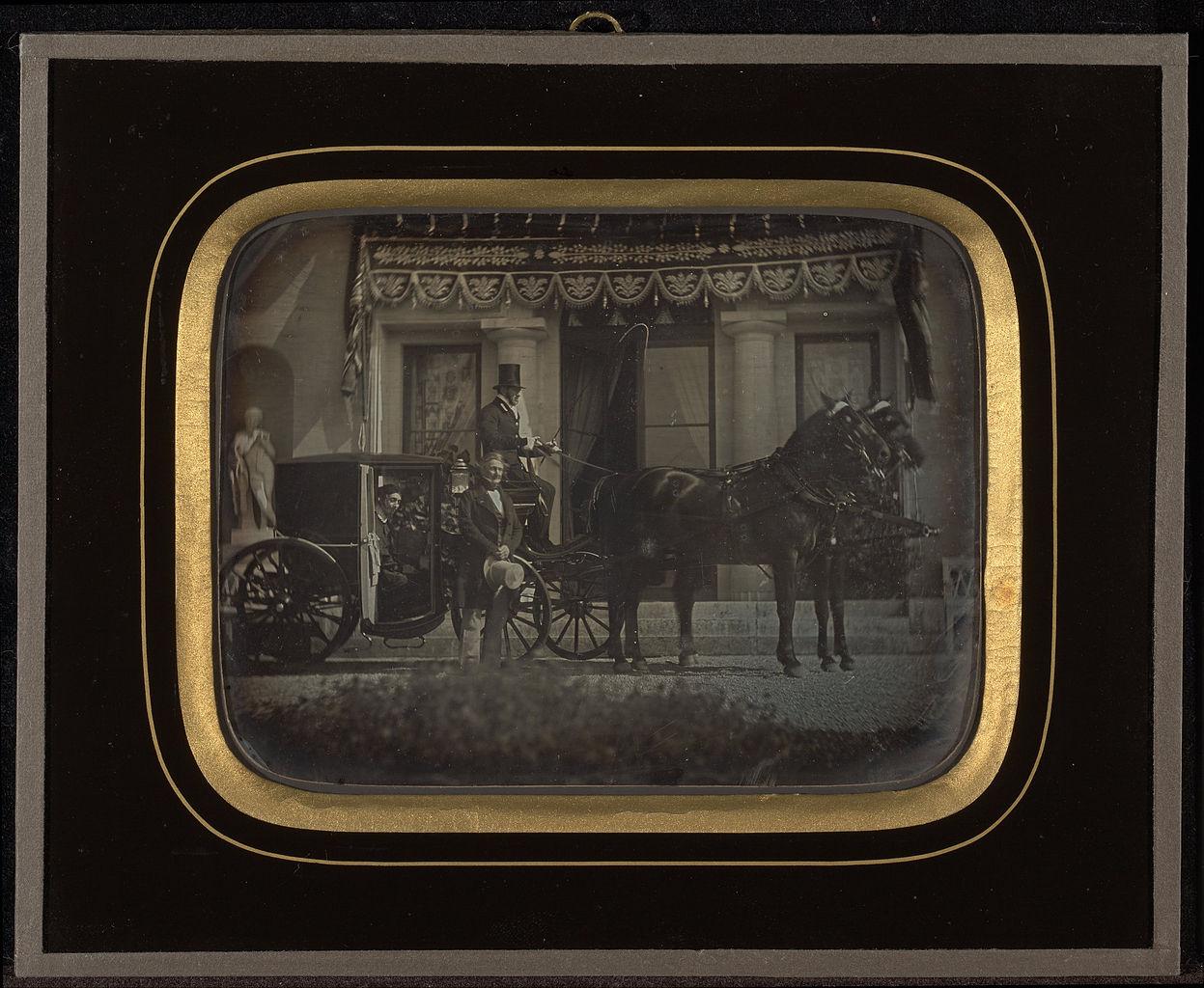 """Jean-Gabriel Eynard, """"Scene at Beaulieu"""" (1850), daguerreotype (J. Paul Getty Museum, via Wikimedia)"""