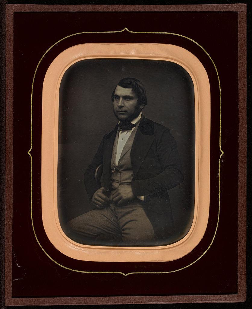 """Jean-Gabriel Eynard, """"Portrait of Jean Rion"""" (1850), daguerreotype (J. Paul Getty Museum, via Wikimedia)"""