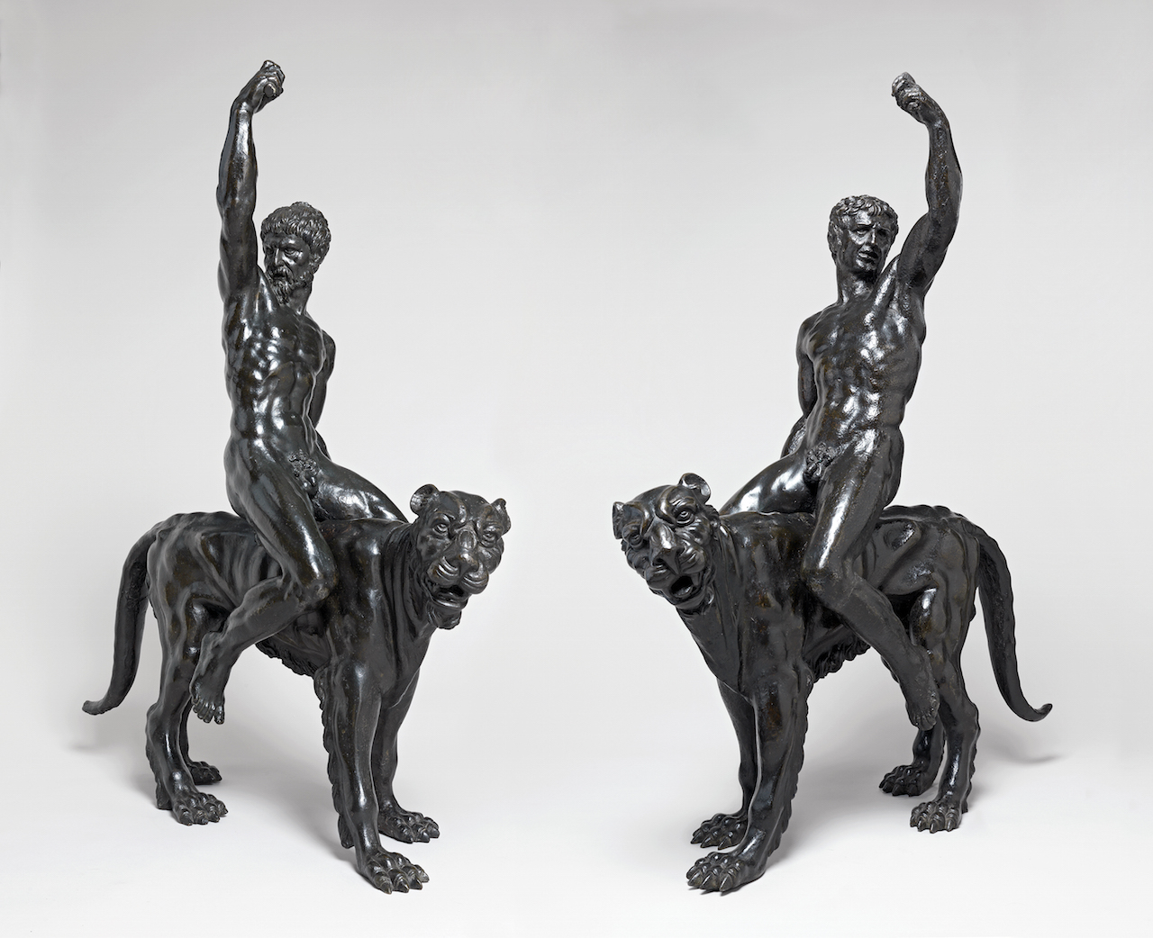 """""""Nude bacchants riding panthers"""" (c.1506–08) (all images copyright Fitzwilliam Museum, Cambridge, unless noted otherwise)"""