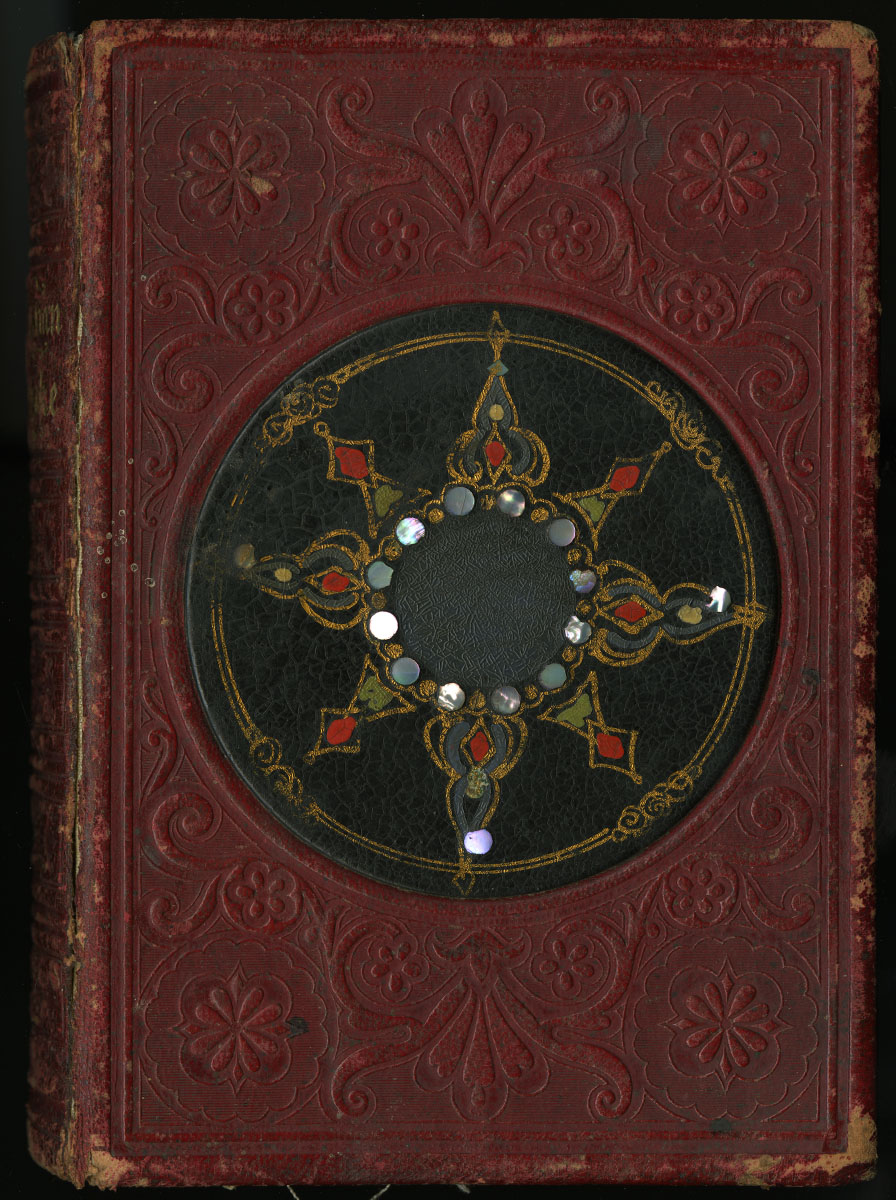 """""""The Christian Keepsake: A gift book for all seasons"""" (New York, published by Leavitt & Allen, 1855)  (via Library Company Conservation Dept.)"""