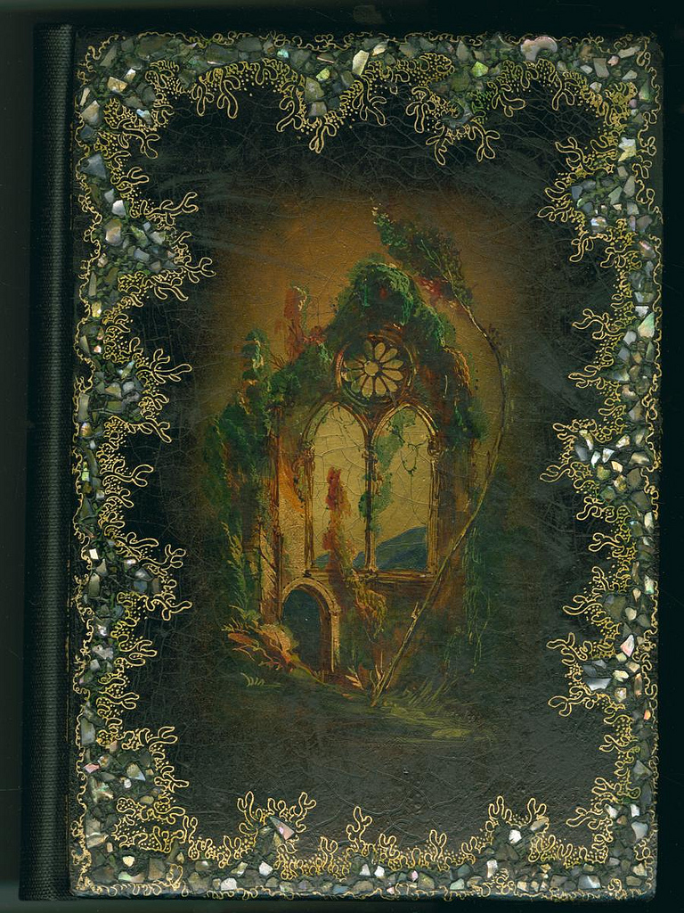 """""""The Keepsake: A Gift for the Holidays"""" (New York: John Riker, 1852) (via Library Company Conservation Dept.)"""