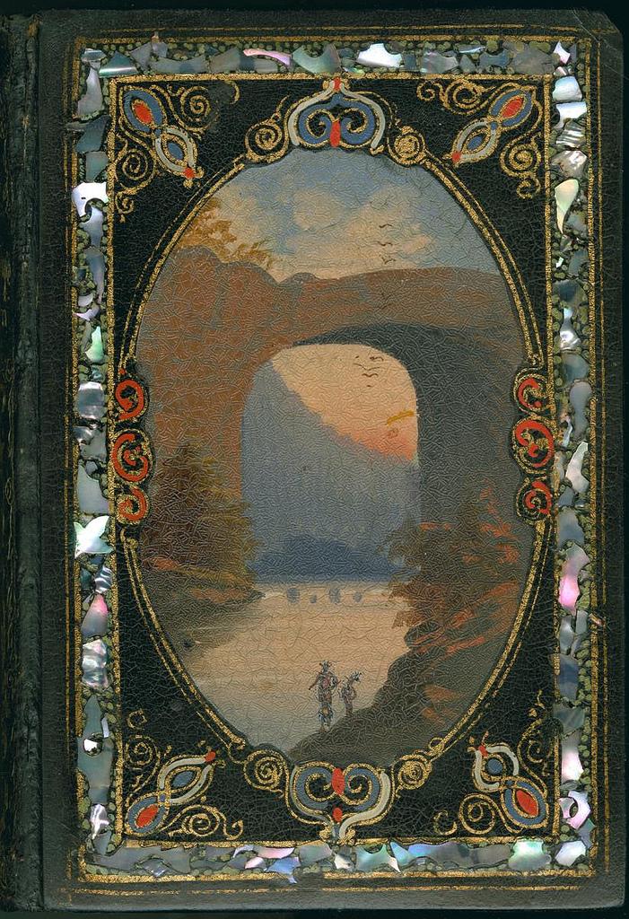 """""""Friendship's Token"""" (New York: Leavitt & Allen, [n.d.]) (via Library Company Conservation Dept.)"""