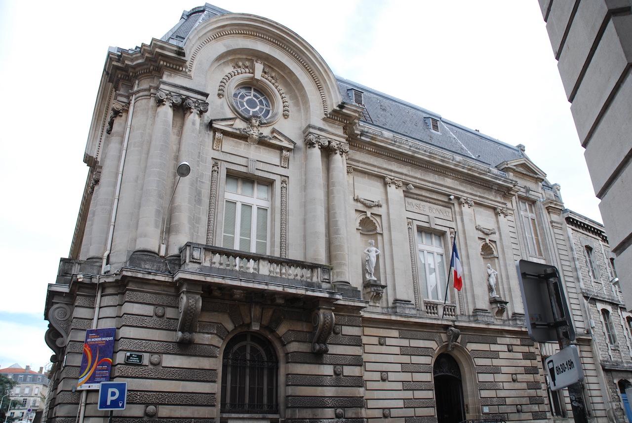 The Musée Bonnat in Bayonne (photo by Harrieta171, via Wikimedia Commons)