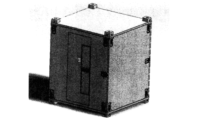 """Rendering of the """"Modular Detainee Shelter System"""" (Department of the Army, via fbo.gov)"""