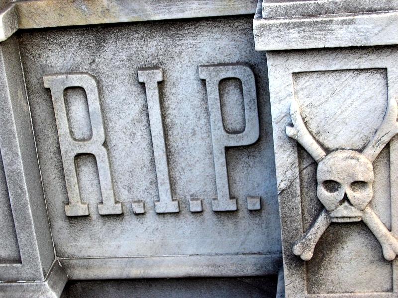 R.I.P. in the Cementerio de la Recoleta: R.I.P., Buenos Aires