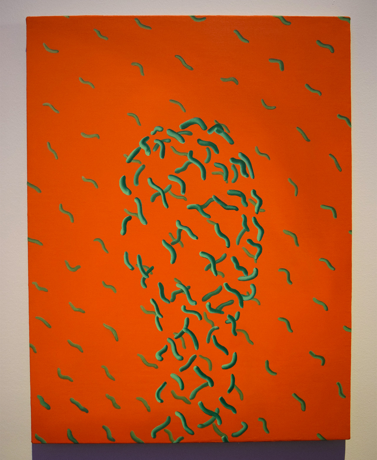 """Sascha Braunig, """"Squirm"""" (2014)"""
