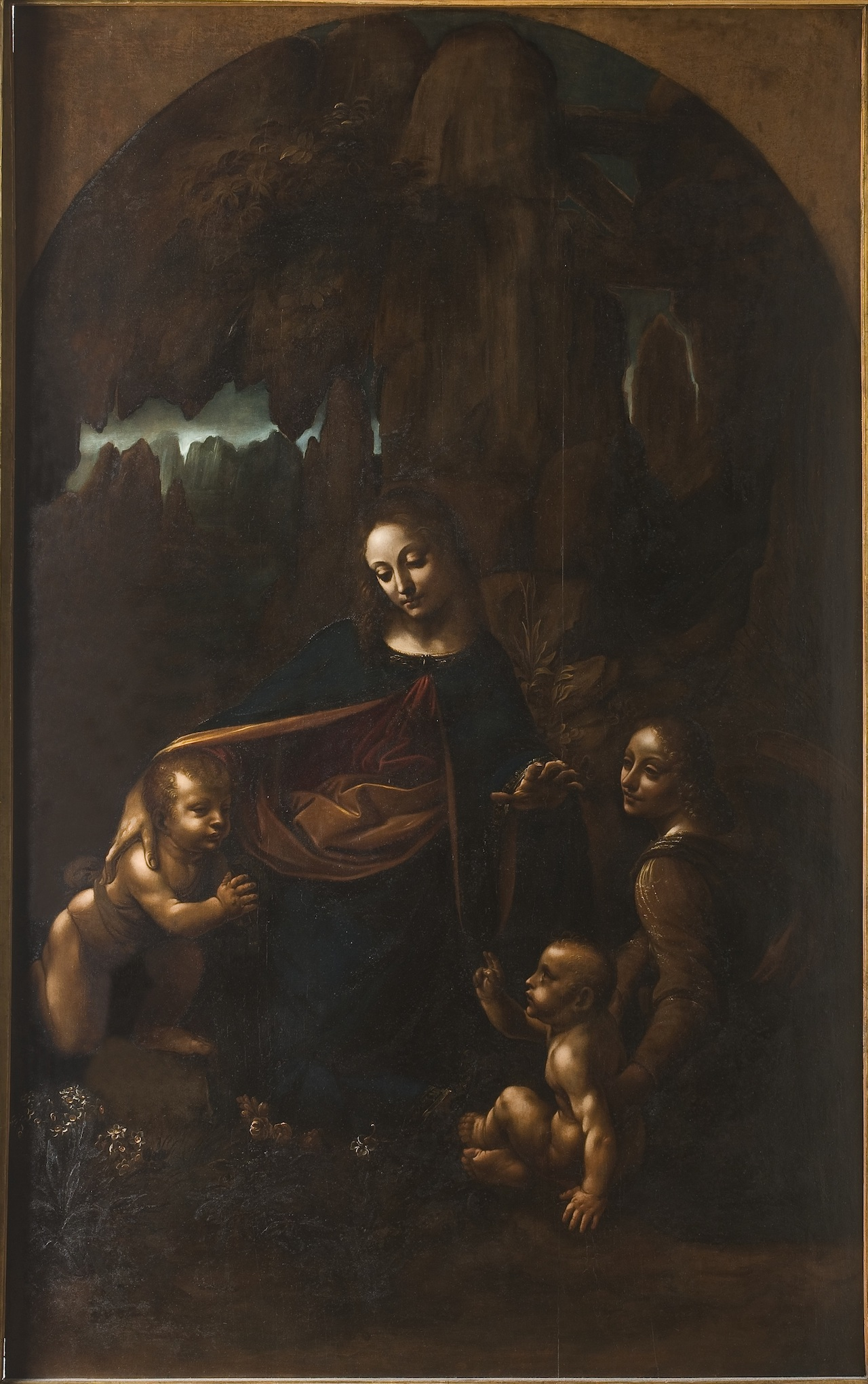'Virgin of the Rocks' by Andrea Bianchi (Circa 1615-18) (click to enlarge)