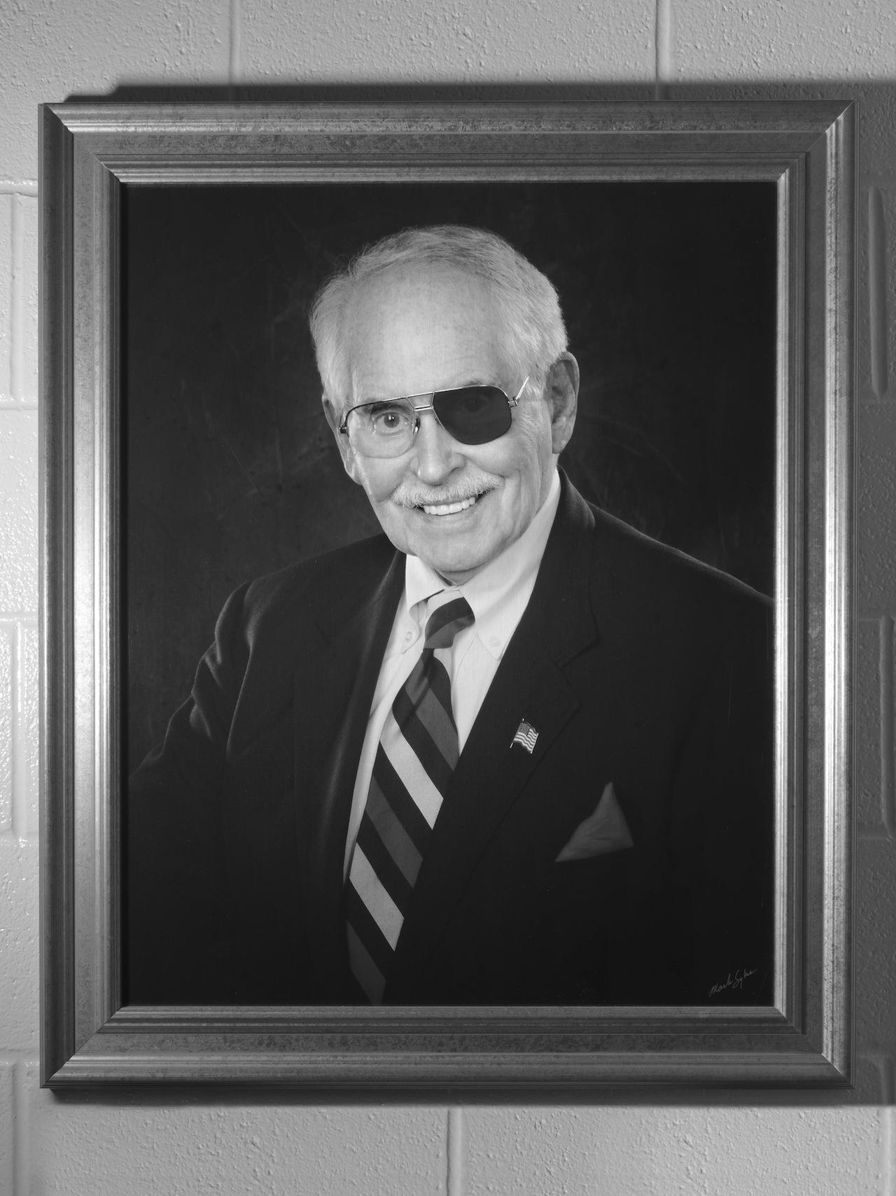 "Alec Soth, ""Robert E. ""Bob"" Wiatt"". College Station, Texas, 2013. Pigment print, 30 x 24 inches"