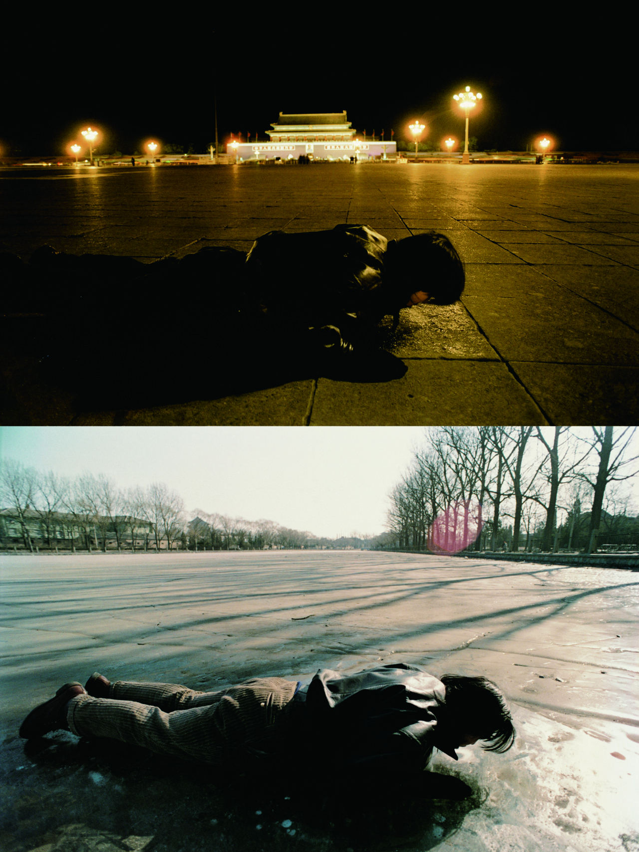 Song Dong Breathing. 1996.  Courtesy the artist and Pace Beijing