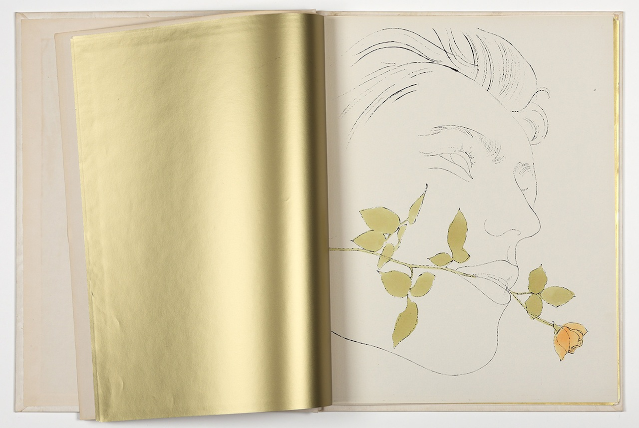 8_Andy_Warhol_A_Gold_Book_1957_AWF