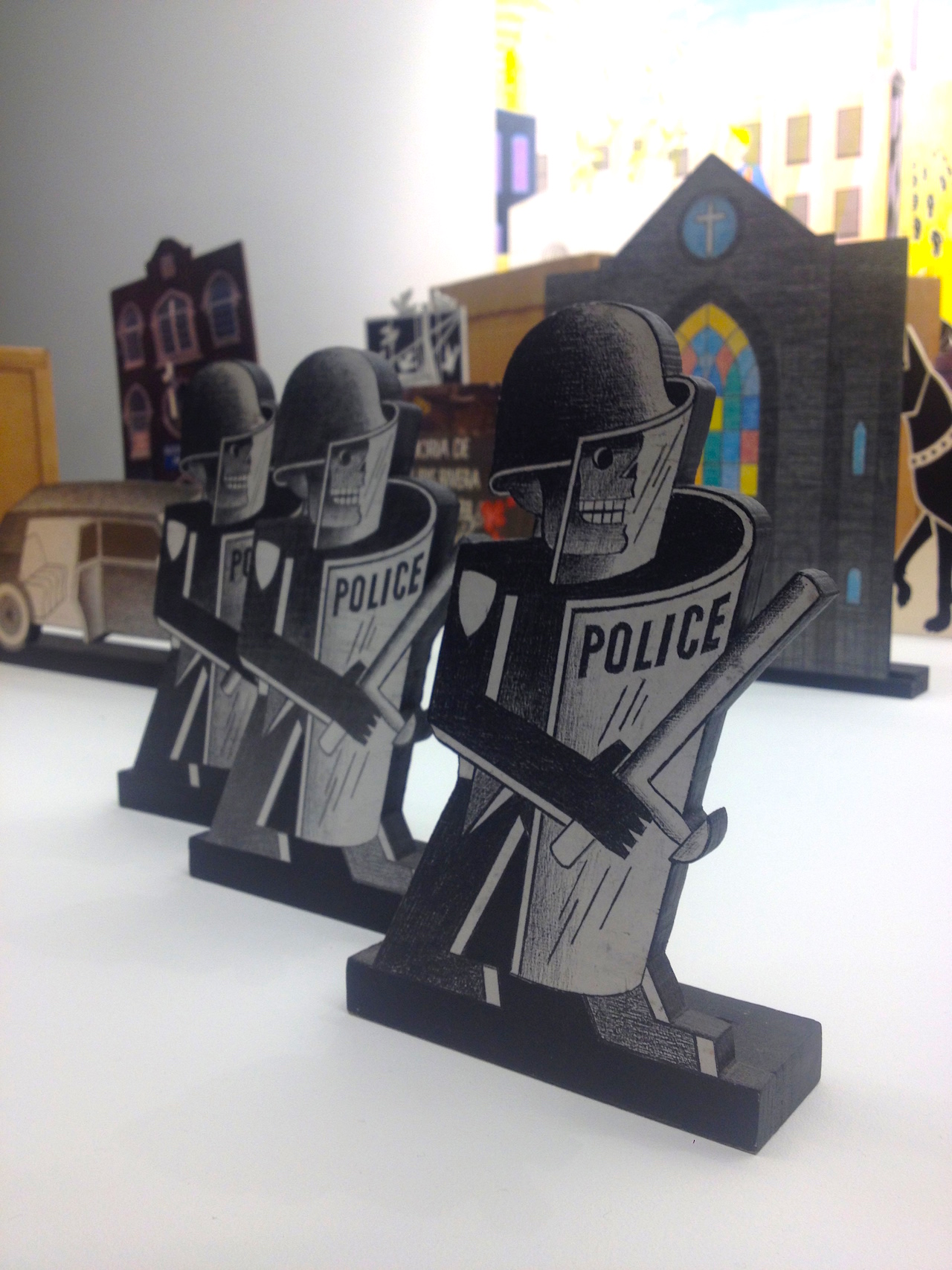Anton van Dalen_Riot Police
