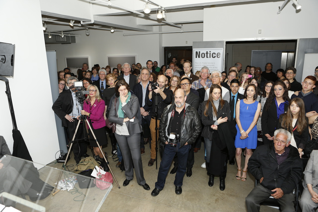Event at gallery