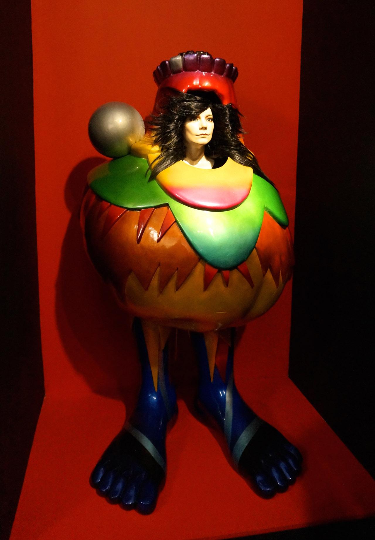 Bernhard Willhelm, Body Sculpture (2007) (photo by Jillian Steinhauer/Hyperallergic)
