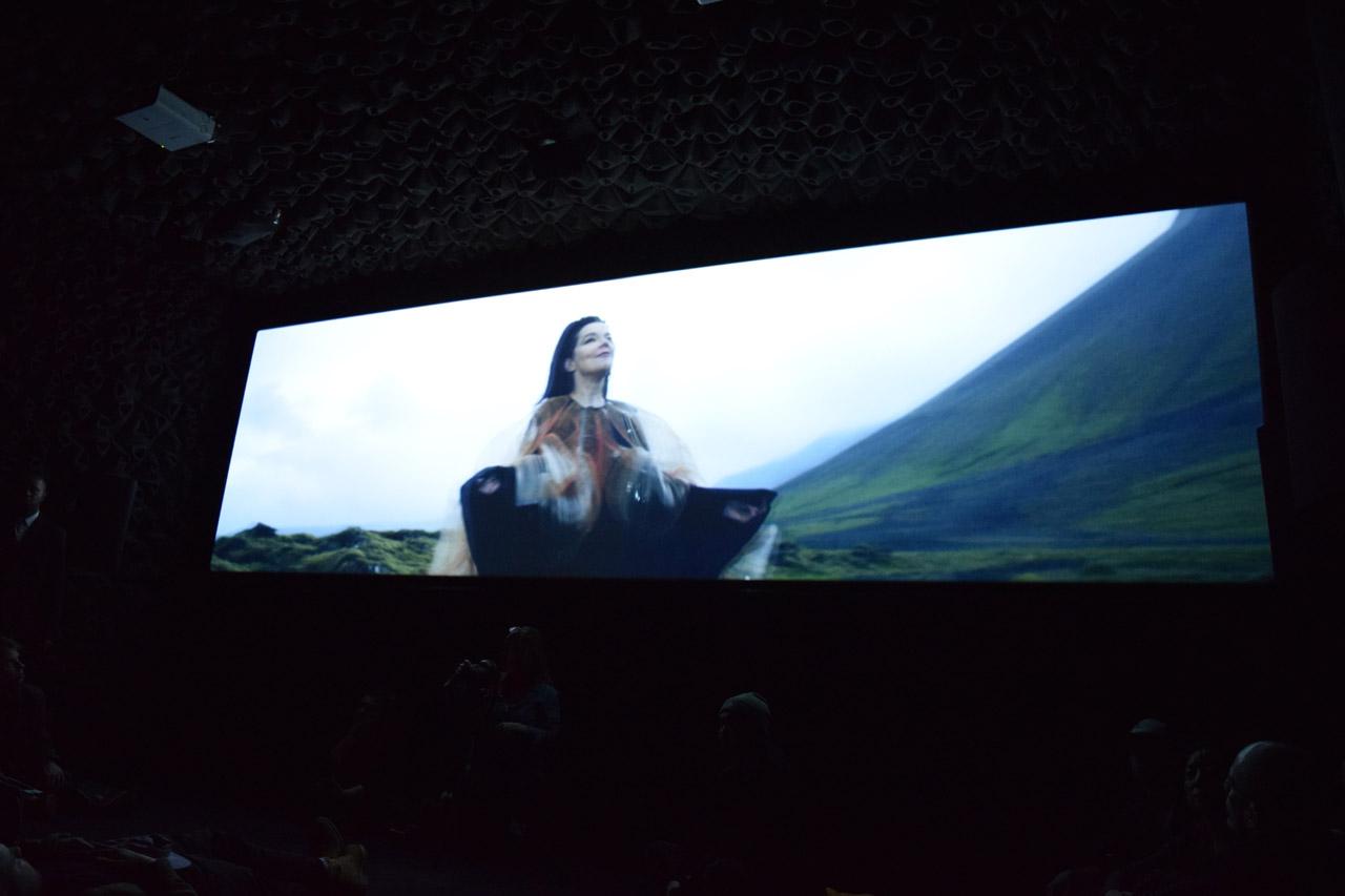 """Björk, still from """"Black Lake"""""""