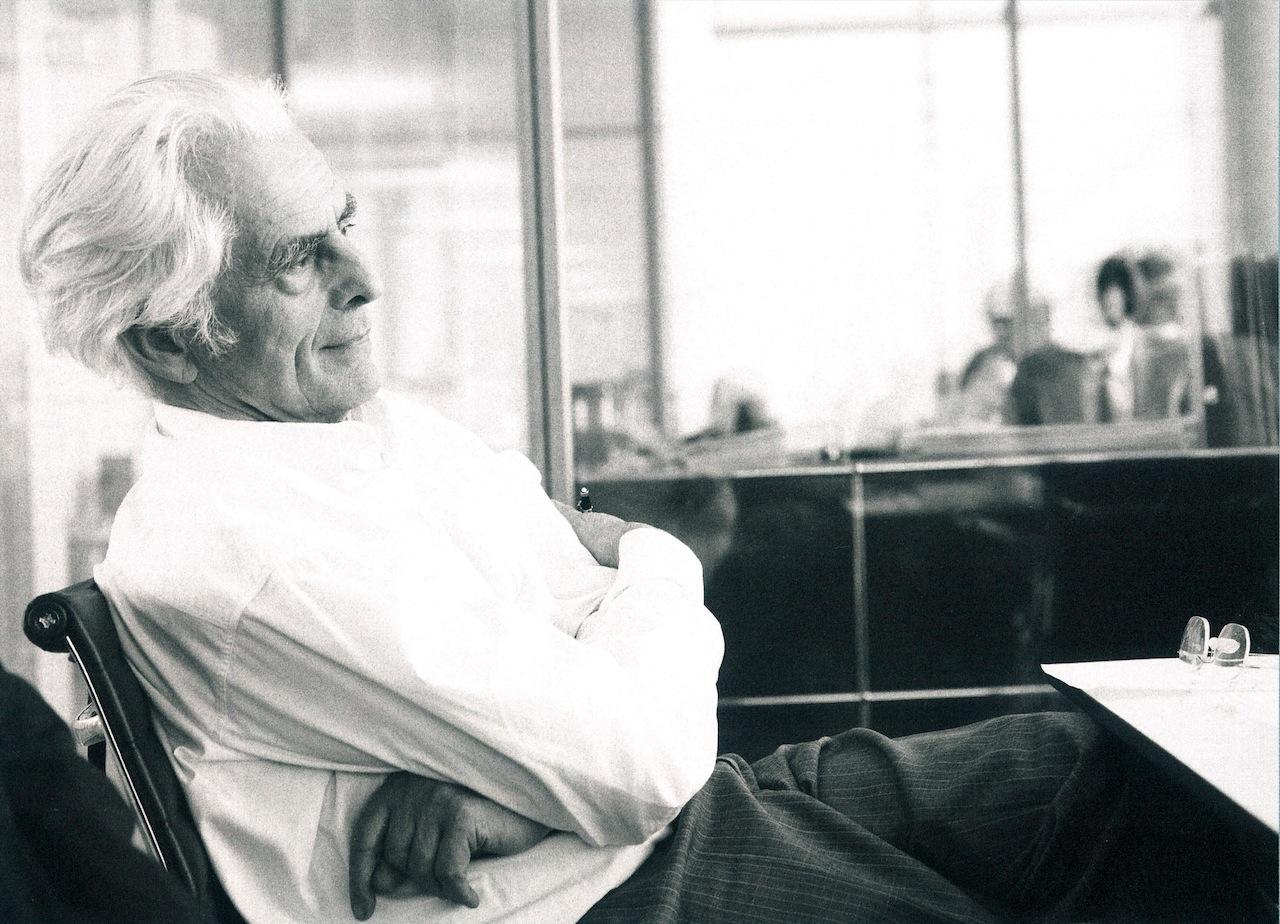Frei Otto, 2000  Photo © Ingenhoven und Partner Architekten, Düsseldorf