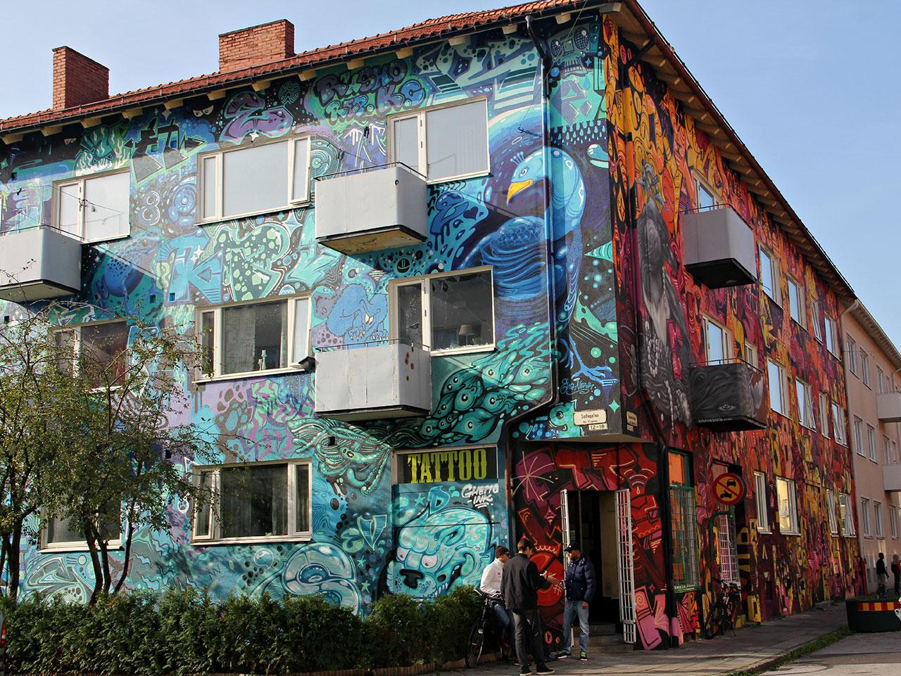 Graffitihus
