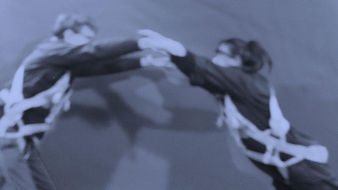 Still from Nahum's work in 'The Gravity of the Issues' at the Alameda Art Laboratory