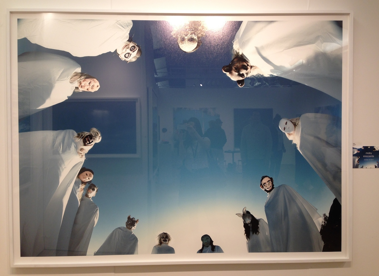 Moby, Innocents, 2013. 127 x 165.1 cm.  Emmanuel Fremin Gallery.