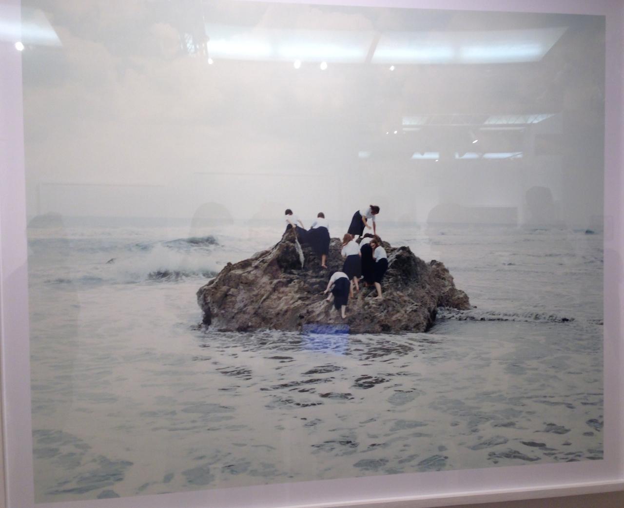 Osamu Yokonami, Assembly C-2, 2012. Archival pigment print: 41 x 49.5 inches. De Soto Gallery.