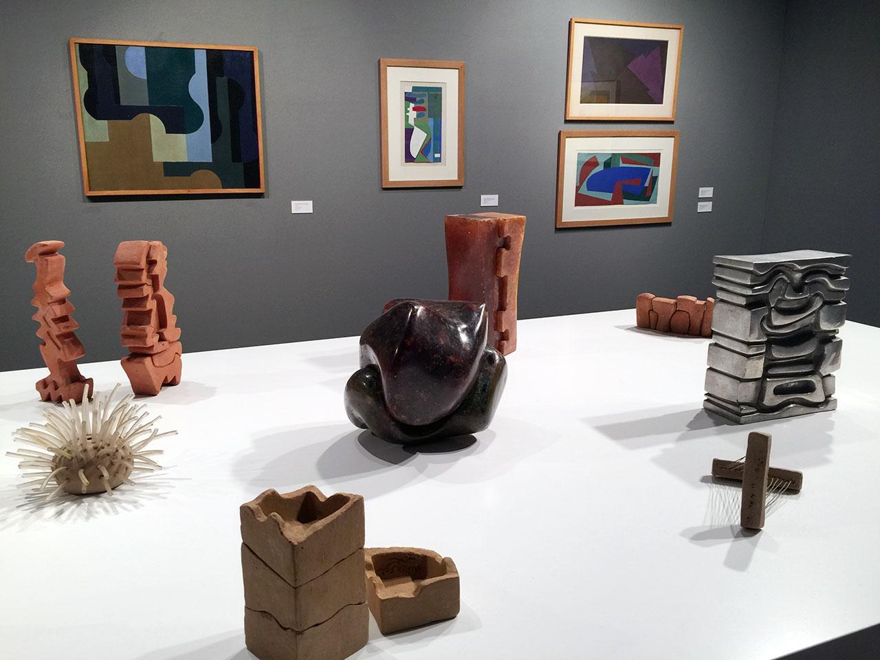 Saloua Raouda Choucair at CRG Gallery