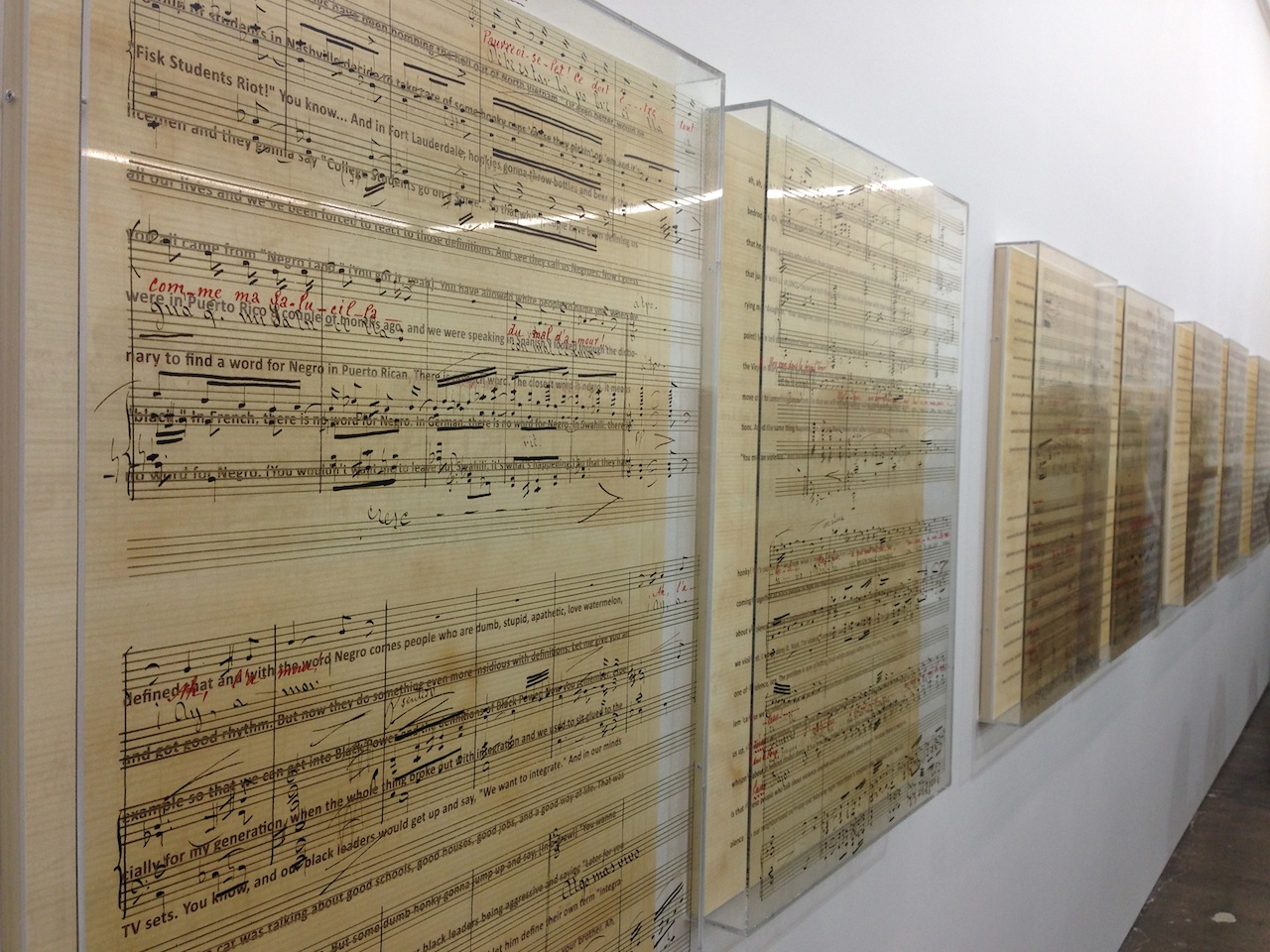 """Charles Gaines: Librettos: Manuel de Falla / Stokely Carmichael"" at Art + Practice"